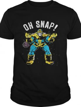 Awesome Marvel Thanos Space Oh Snap Retro Comic Style shirt