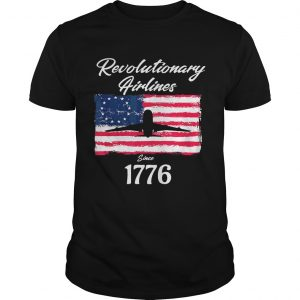 Betsy Ross flag revolutionary airlines since 1776 unisex