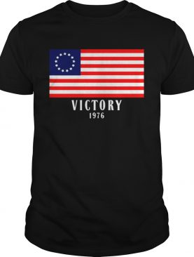 Betsy ross flag victory 1976 shirts