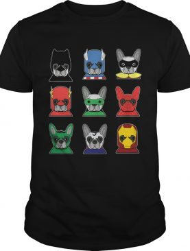 Frenchies avenger Heroes shirt