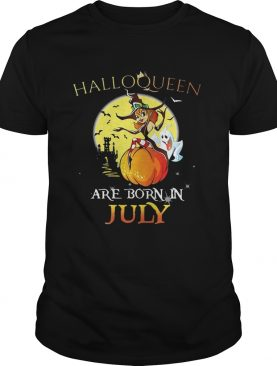 Halloqueen are born in July shirt