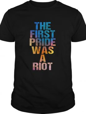 Hot The First Pride Was A Riot Parade 50th Anniversary shirt