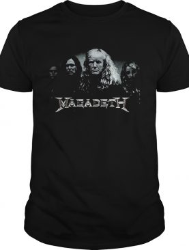 Megadeth Donald Trump shirt