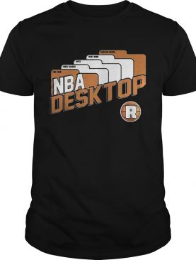 NBA Desktop National Basketball Association shirt