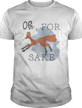 Oh For Fox Sake Orange Fox shirt