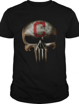 Punisher skull Cleveland Indians shirt