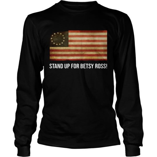 Rush Limbaugh stand up for Betsy Ross longsleeve tee