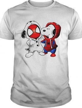Snoopy and Spiderman shirt