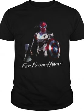 Spider Man far from home shirts