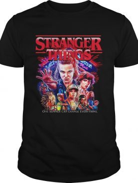 Stranger Things 3 new poster one summer can change everything shirt