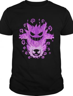 The Menacing Ghost Within Gastly Gengar shirt