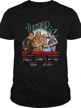 The Wizard Of Oz 80th anniversary 2019 shirt