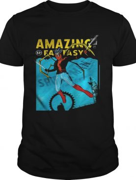 Amazing Fantasy SpiderMan shirt