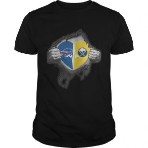 Bills Sabres Its in my heart inside me unisex
