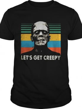 Boris Karloff lets get creepy vintage shirt