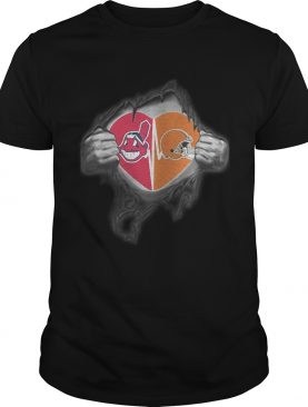 Browns Indians Its in my heart inside me shirt