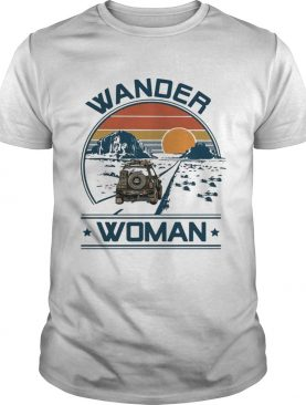 Camping Wander woman shirt