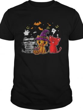 Cat happy Halloween shirt