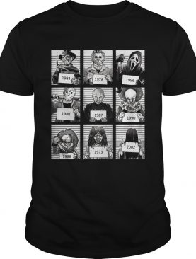 Character Horror Movies 1984 2002 shirt
