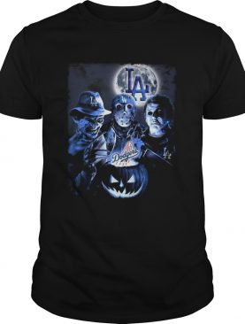 Los Angeles Dodgers Horror characters shirt