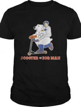Scooter and The Big Man Michael Conforto and Pete Alonso New York Mets shirt