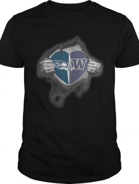 Seahawks Huskies Its in my heart inside me shirt