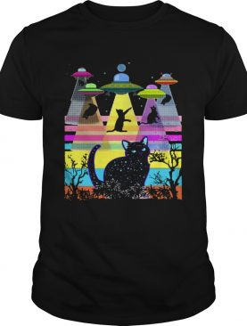 Storm area 51 they cant stop all of us cats shirt