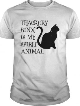 Thackery Binx is my spirit animal cat shirt