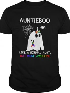 Auntieboo Like a normal aunt but more awesome shirt