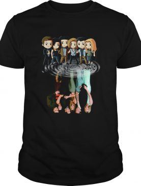 Friends shadow water shirt