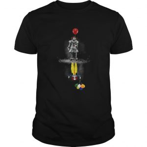 IT Pennywise reflection mirror water Stephen King unisex