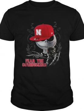 Jack Skellington Fear The Cornhuskers Shirt