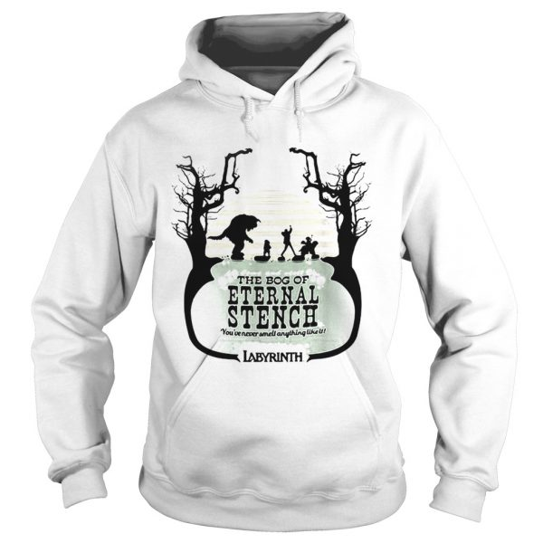 Labyrinth come and visit the bog of Eternal Stench hoodie