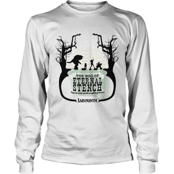 Labyrinth come and visit the bog of Eternal Stench longsleeve tee