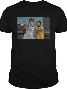 Mac and Charlie it's always sunny in Philadelphia canvas shirt