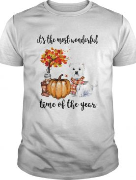 Shih Tzu its the most wonderful time of the year shirt