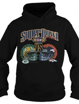 NFL Super Bowl XXXII Sunday January 25 1998 San Diego California Green Bay Packers Vs Broncos Denver Shirt