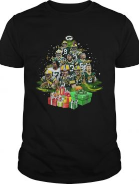 Green Bay Packers Players Christmas Tree shirt