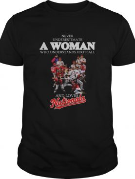 Never understand a woman who understands football and loves Nationals shirt