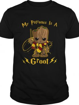 My Patronus is a Groot shirt