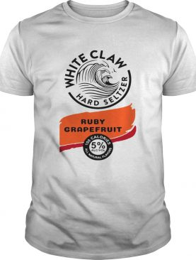 White claw Hard seltzer Ruby Grapefruit Halloween Costume shirt