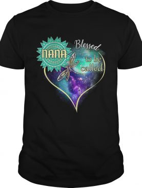 Dragonfly Blessed To Be Called Nana TShirt