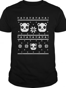 Panda Bear ugly Christmas shirt