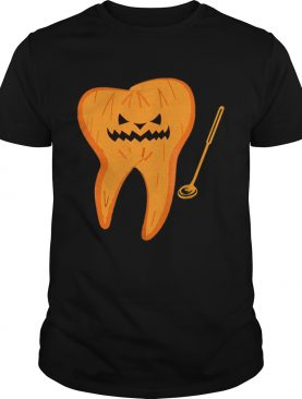 Official Halloween Spooky Dentist Scary Dental Assistant Tee shirt