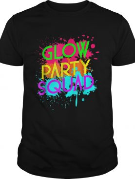 Awesome Glow Party SquadNeon Effect Group Halloween shirt