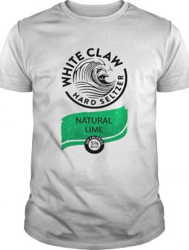 Nice White Claw Hard seltzer Natural Lime shirt