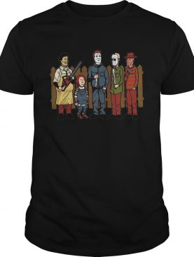 King of the hell Leatherface Chucky Michael Myers Halloween shirt