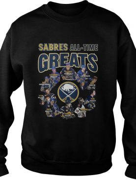 Buffalo Sabres All-time Greats Players Signatures shirt
