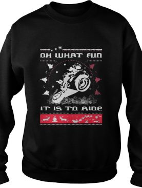 Oh what fun it is to SuperBikers Xmas ride Christmas shirt