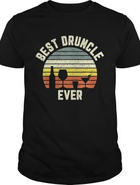 Best Druncle Ever Vintage T-shirt